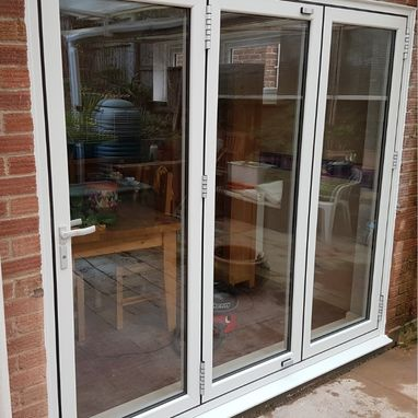 warm core door and bifolding door